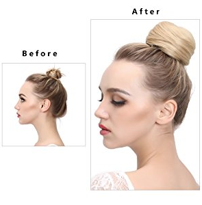 Synthetic Hair Bun