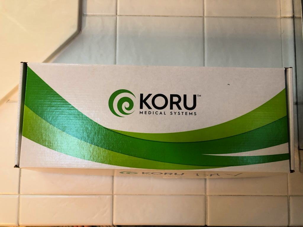 SubQ Infusion Kit Koru Pump Box