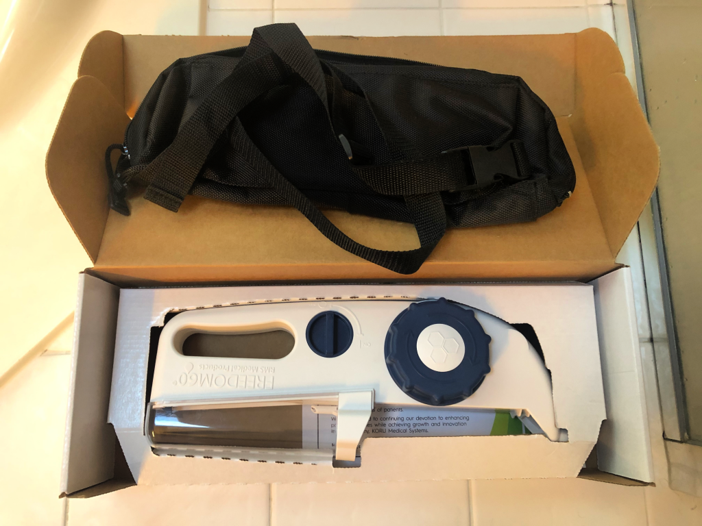 SubQ Infusion Kit Koru Pump & Bag