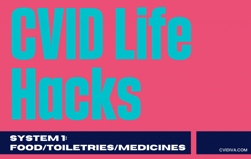 cvid life hacks system 1 food toiletries medicine feature image
