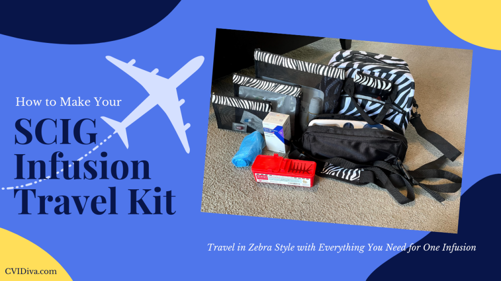 SCIG Infusion Travel Kit